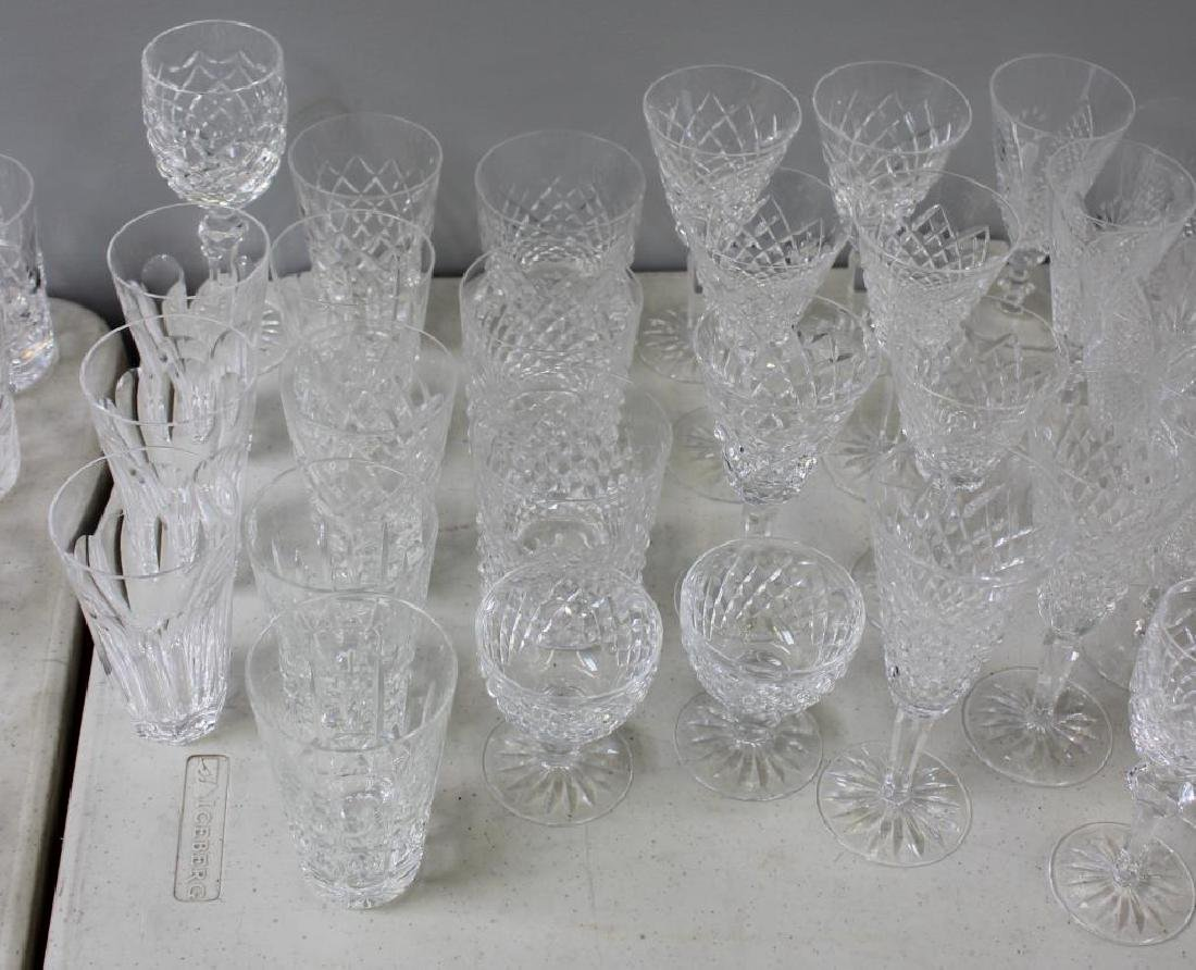 Large Lot of Assorted Waterford Crystal Goblets, - 7