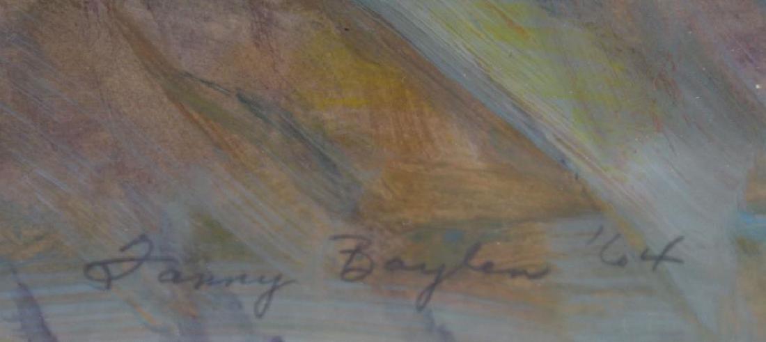 BAYLEN, Janny. Oil on Paper. Musicians. 1964. - 3