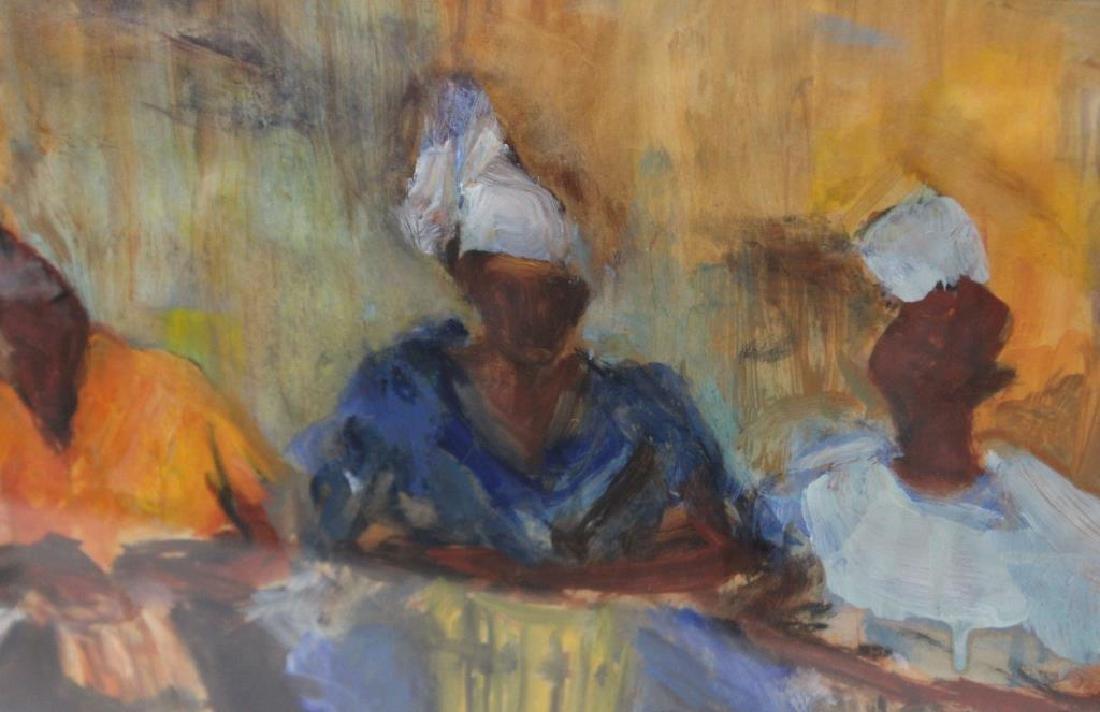 BAYLEN, Janny. Oil on Paper. Musicians. 1964. - 4