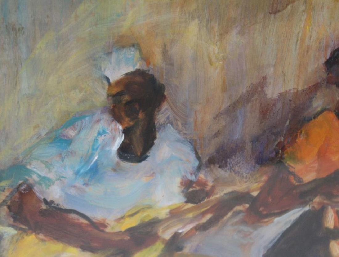 BAYLEN, Janny. Oil on Paper. Musicians. 1964. - 5