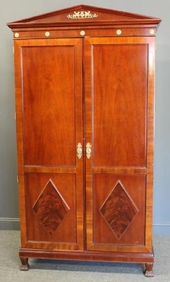 KINDEL, Signed Neoclassical Style Inlaid