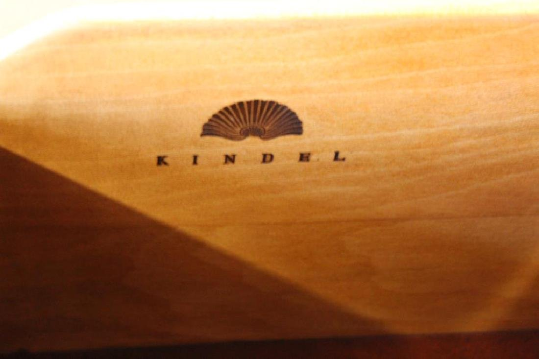 KINDEL, Signed Neoclassical Style Inlaid - 4