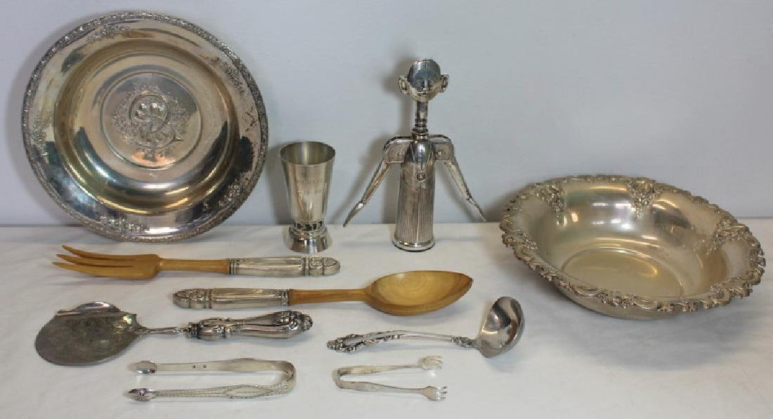 STERLING. Assorted Sterling Hollow Ware and