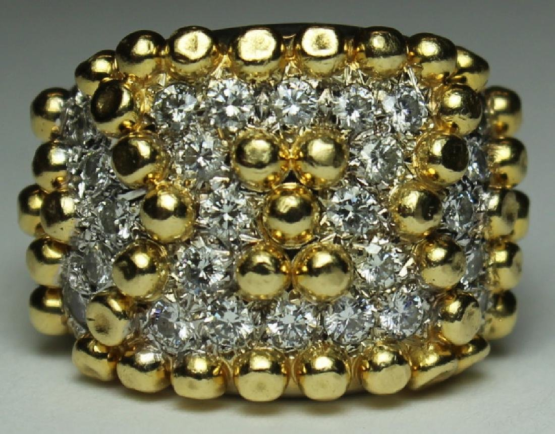 JEWELRY. Cartier STYLE 18kt Gold and Diamond