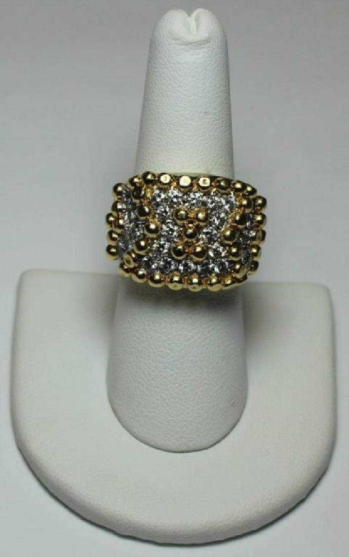 JEWELRY. Cartier STYLE 18kt Gold and Diamond - 2