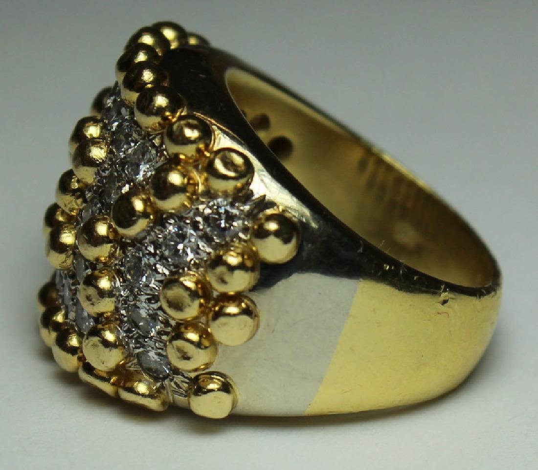 JEWELRY. Cartier STYLE 18kt Gold and Diamond - 3