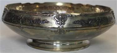 STERLING Tiffany amp Co Sterling Pedestal Bowl