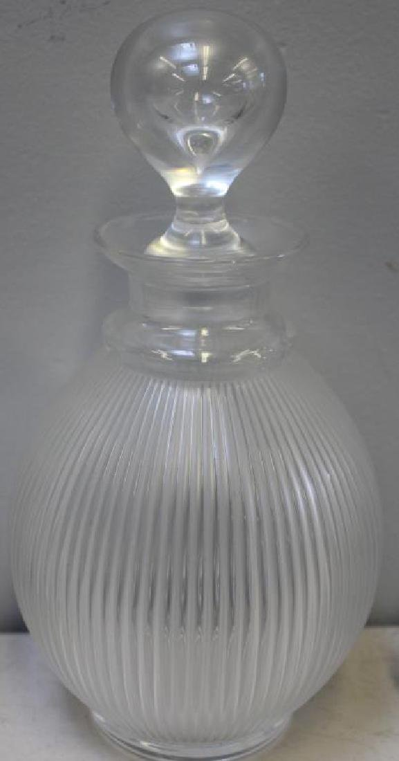LALIQUE, Signed Lot Of 2 Decanters - 3