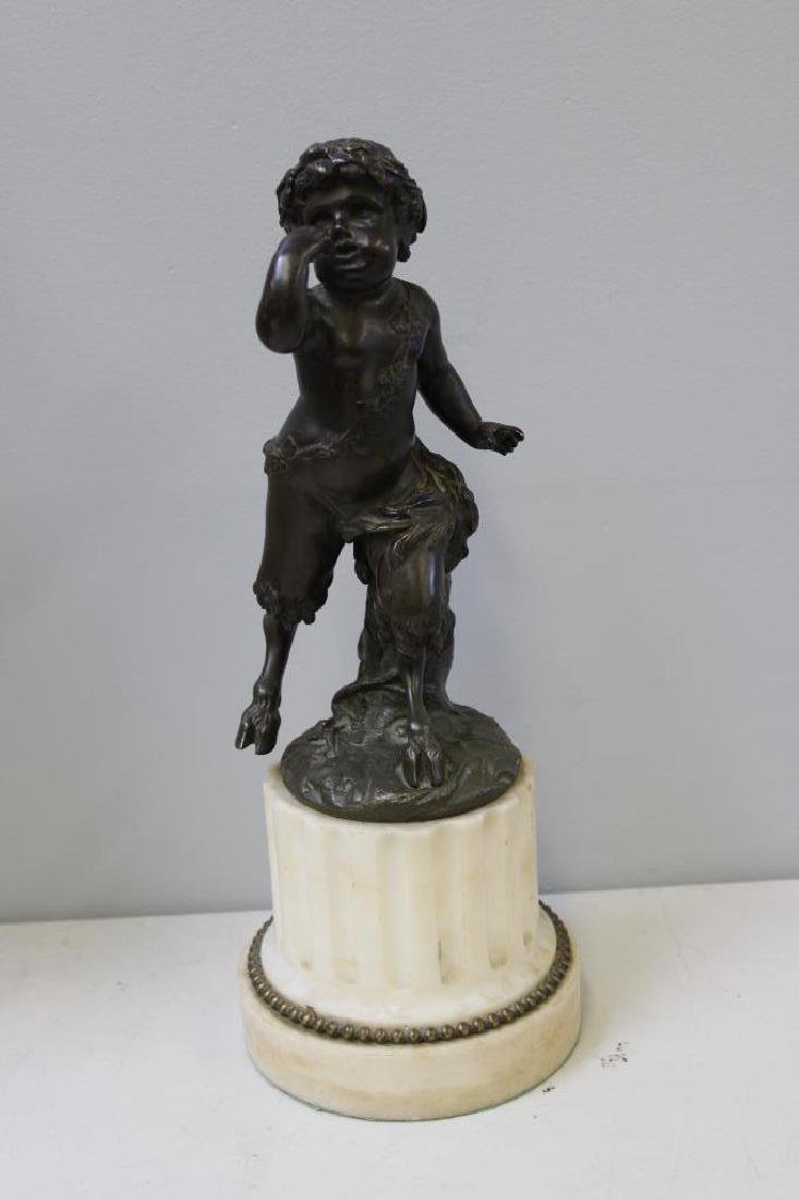 Bronze Cherub after Clodion