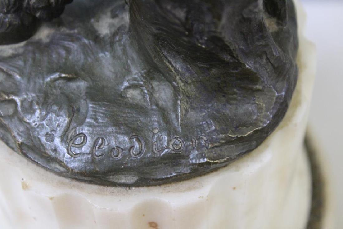 Bronze Cherub after Clodion - 4