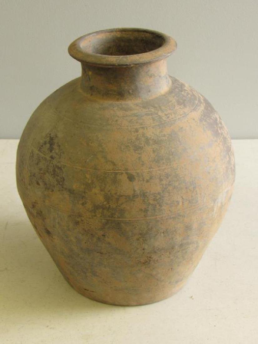 Two Black Han Style Funerary Jars. - 10