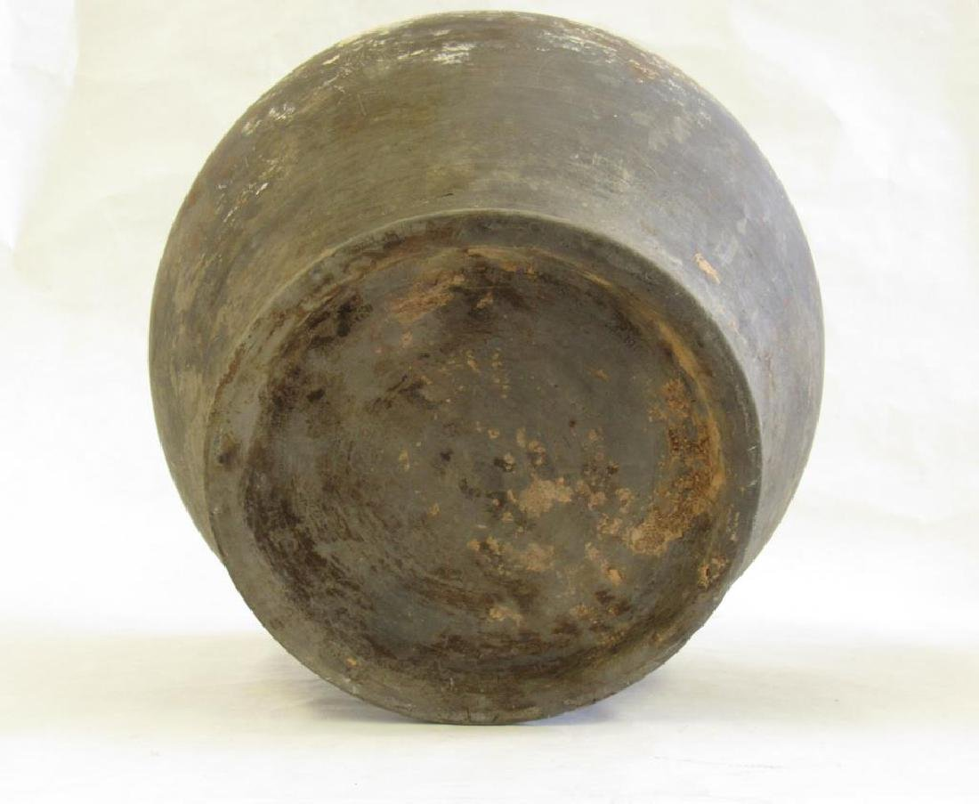 Two Black Han Style Funerary Jars. - 5