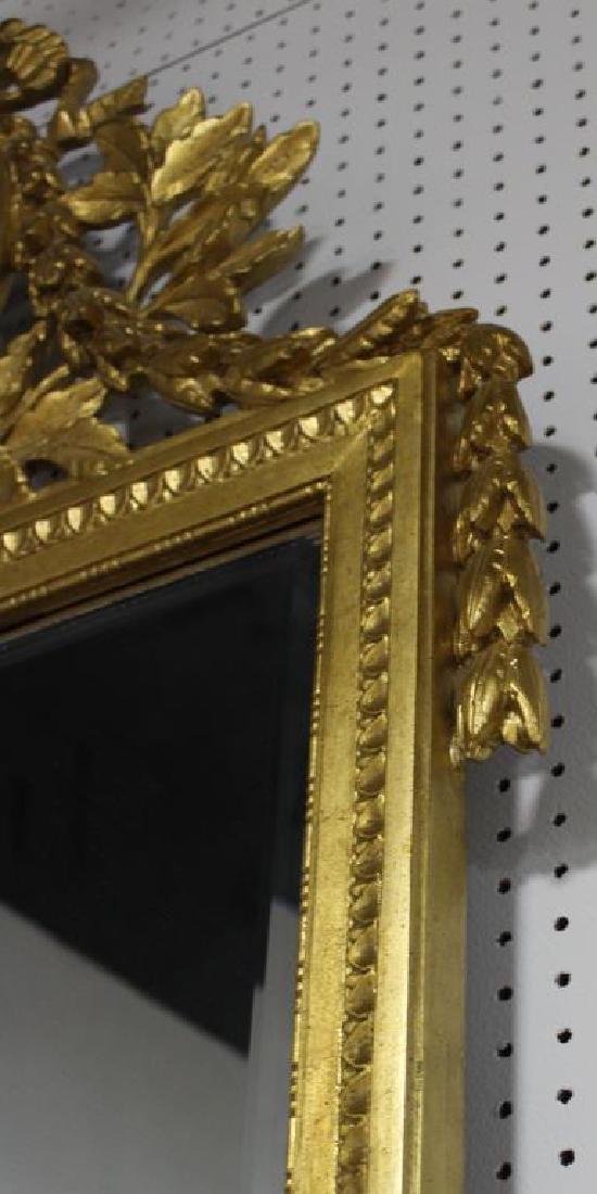 BAKER. Signed Carved Giltwood mirror - 5