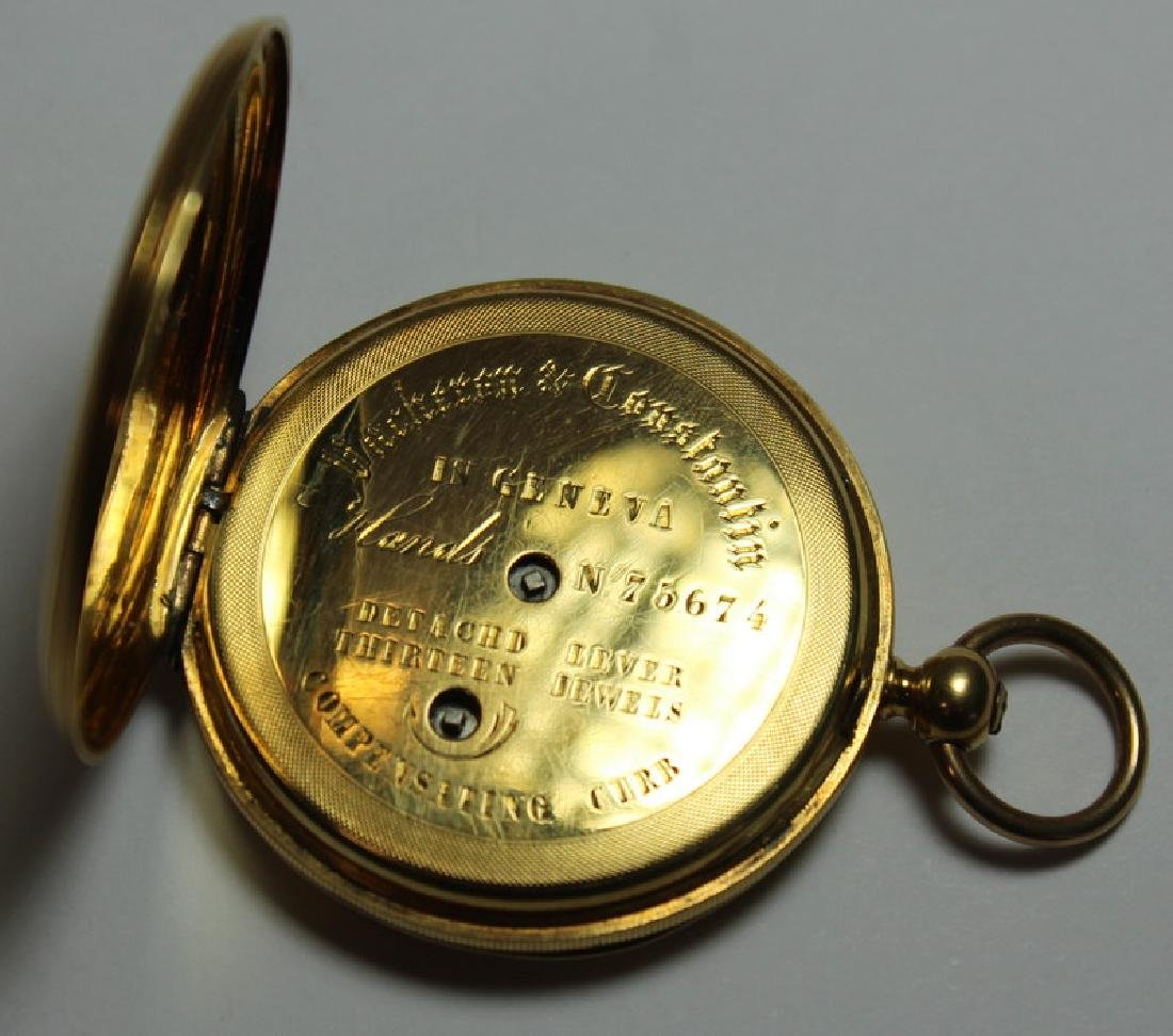 JEWELRY. Vacheron et Constantin Hunter Case Pocket - 7