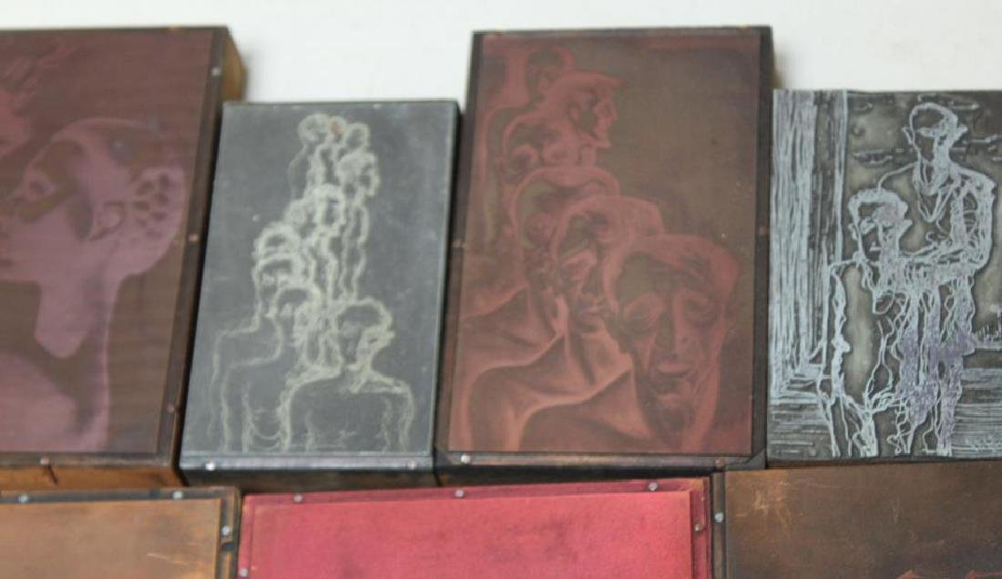 TOBIAS, Abraham. Lot of Assorted Engraving Plates. - 10
