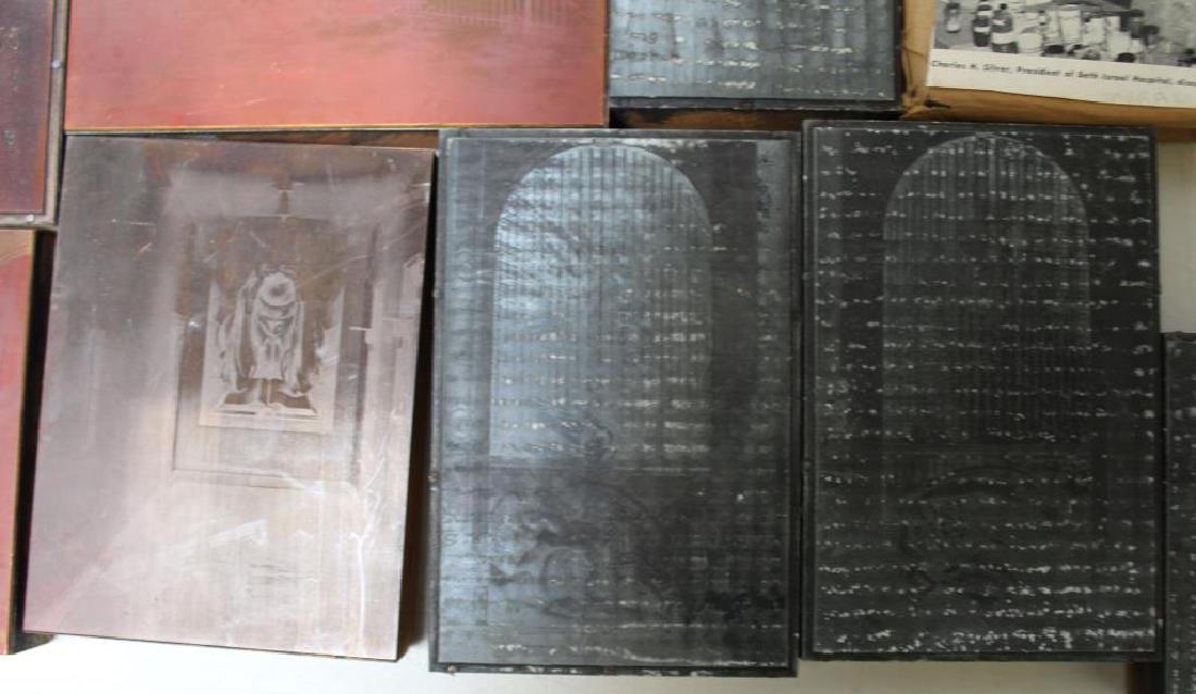 TOBIAS, Abraham. Lot of Assorted Engraving Plates. - 2