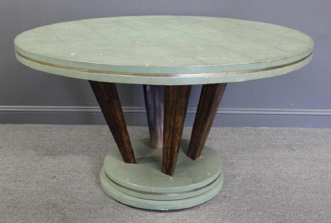 Vintage and Impressive Ron Seff Shagreen Table.