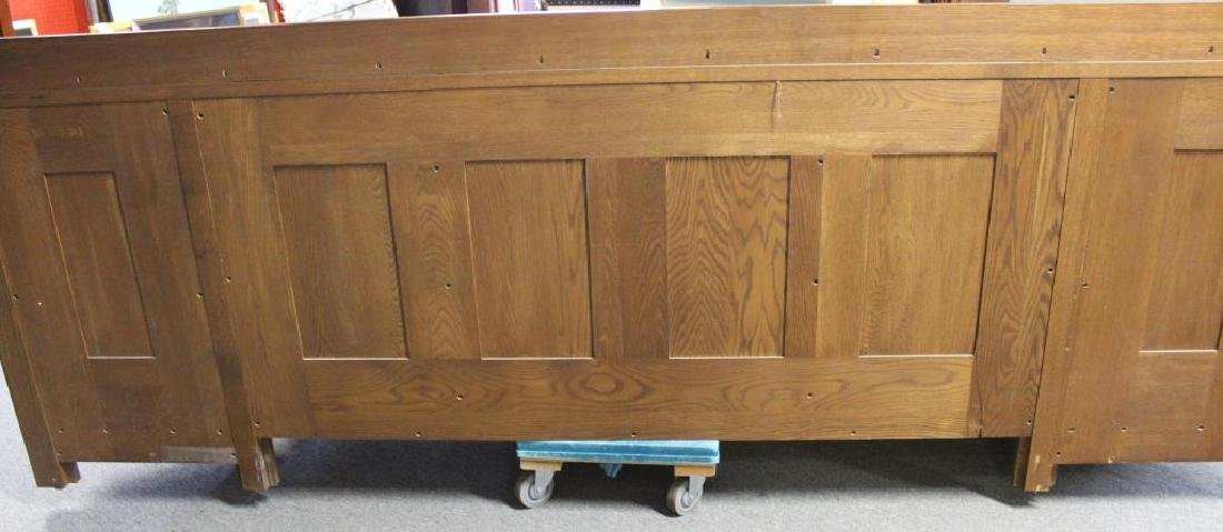 STICKLEY,  Audi, Large Signed Oak Sideboard - 9