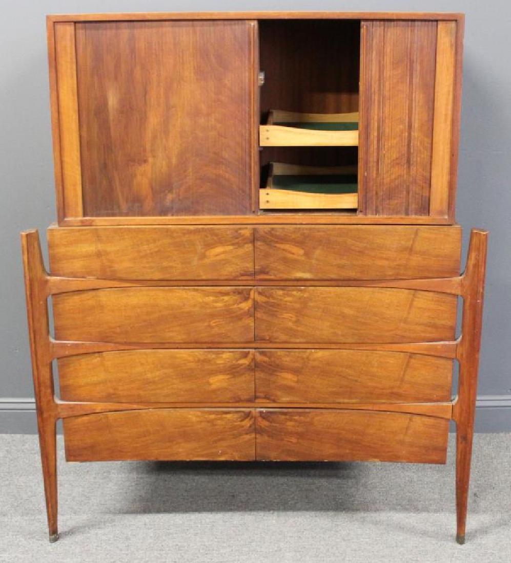 MIDCENTURY. Edmund Spence Curved Dresser