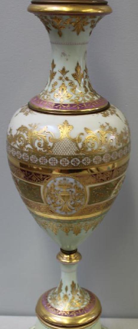 Vienna / Sevres Style Portrait Porcelain Urn As A - 5