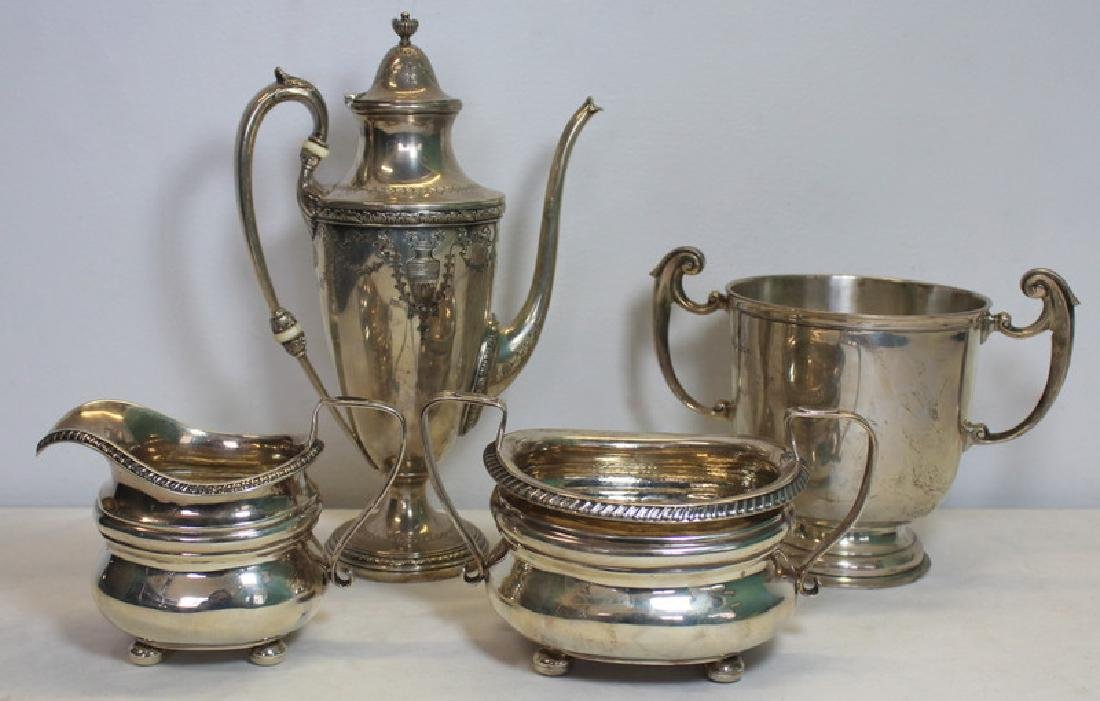 STERLING. Assorted Grouping of Silver Hollow Ware.