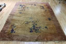 Art Deco Chinese Handmade Roomsize Carpet