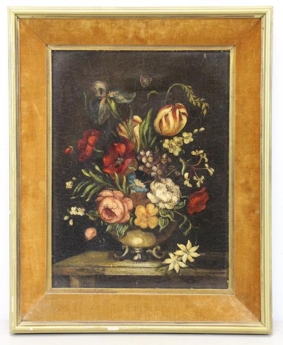NEWTON, Edith Nicola. Oil on Canvas. Still Life. - 2