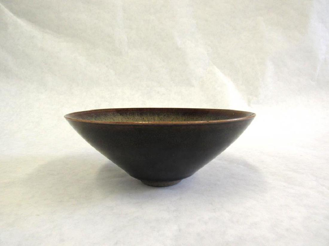 Hare's Fur Bowl and Junyao Bud-Form Water Pot. - 8