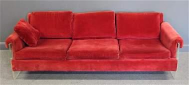 Milo Baughman For Thayer Coggin Sofa.