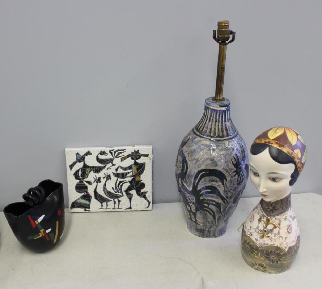 MIDCENTURY. Porcelain & Ceramic Grouping To Inc.