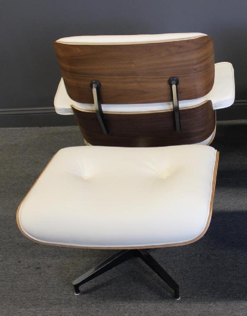 Vintage & Fine Quality Leather Eames Style Lounge - 4