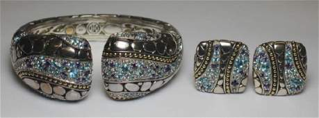 JEWELRY. John Hardy Kali Collection 18kt and