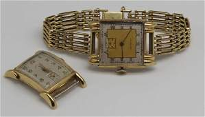 JEWELRY Mens Vintage Gold Watch Grouping