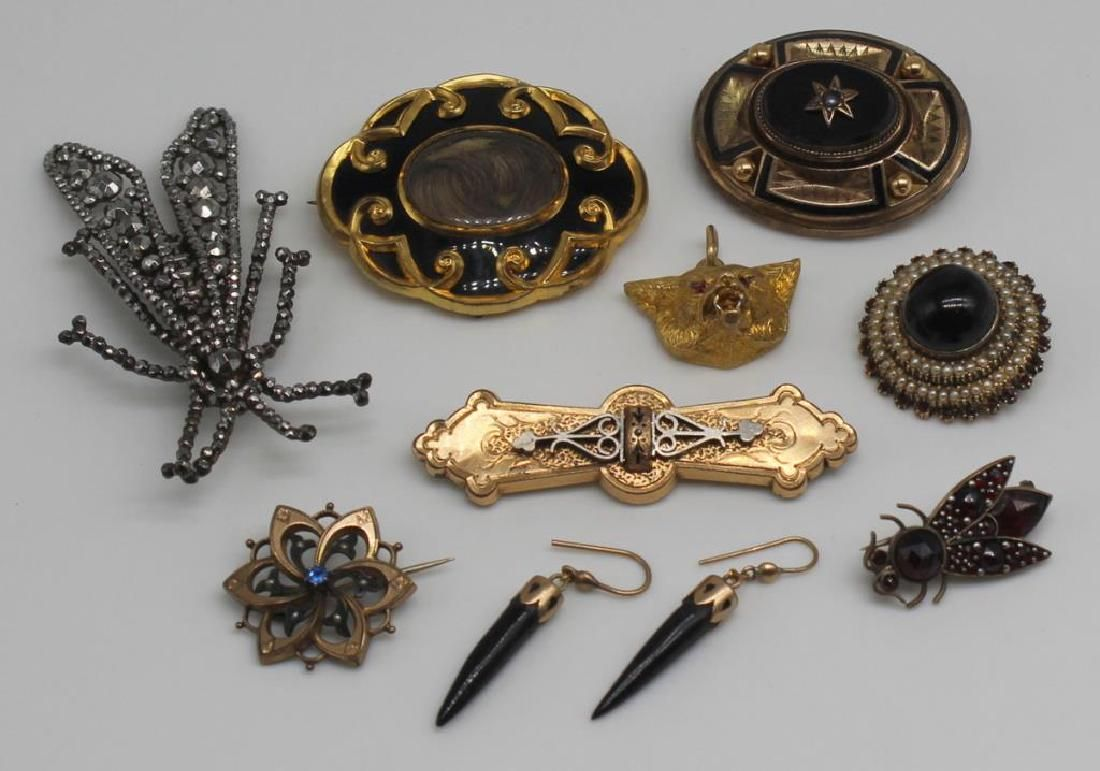 JEWELRY. Antique/Vintage Jewelry Grouping.
