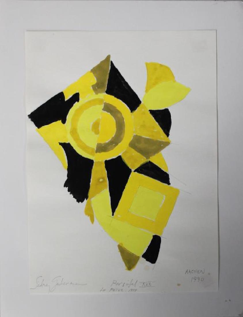 LOT of Three Sidney Guberman Works on Paper. - 10