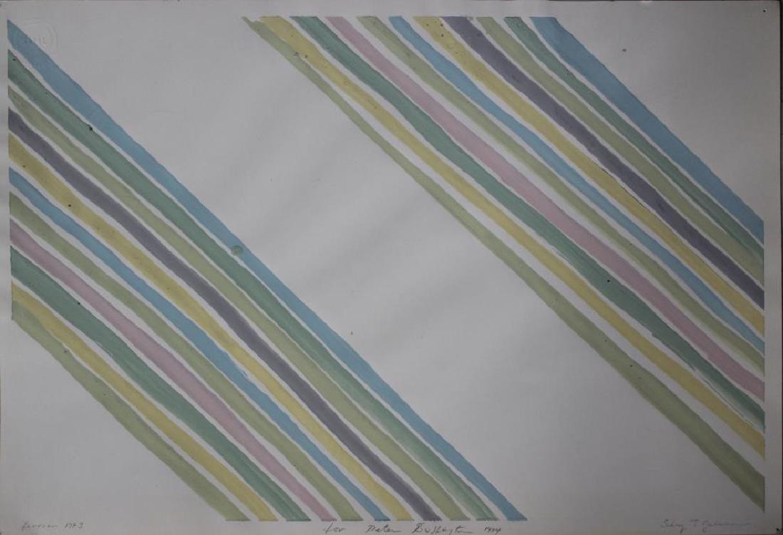 LOT of Three Sidney Guberman Works on Paper. - 2
