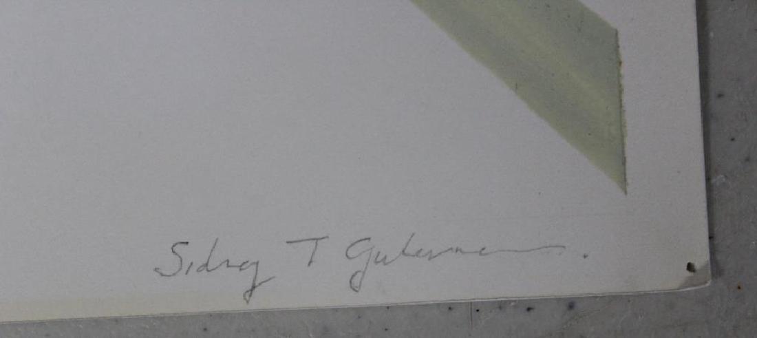 LOT of Three Sidney Guberman Works on Paper. - 3