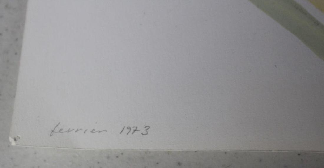 LOT of Three Sidney Guberman Works on Paper. - 5