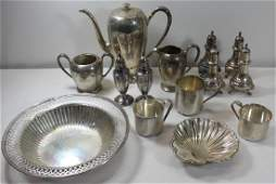 STERLING. Assorted Grouping of Silver.