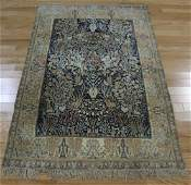 "Vintage and Fine Quality Hand Woven Silk ""Tree of"