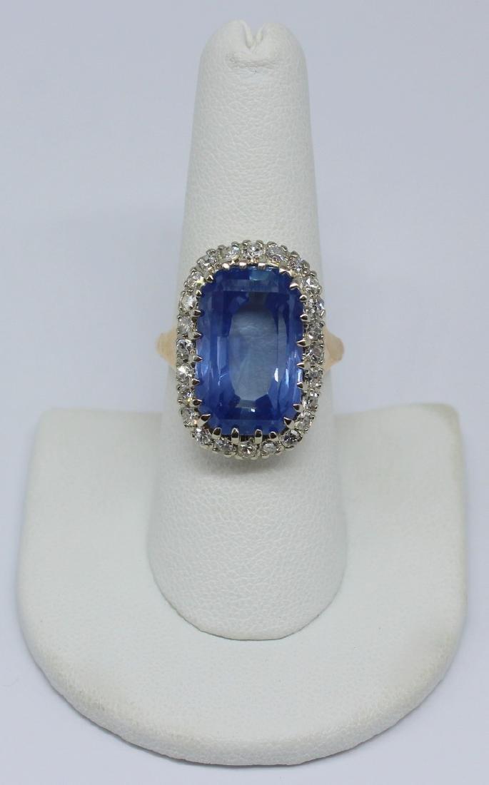 JEWELRY. GIA Natural Unheated 20ct Ceylon Sapphire
