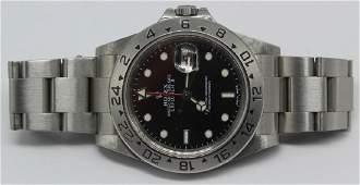 JEWELRY. Rolex Oyster Perpetual Explorer II Watch.