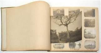 'Around the World' Photo Album, 1905-1915.
