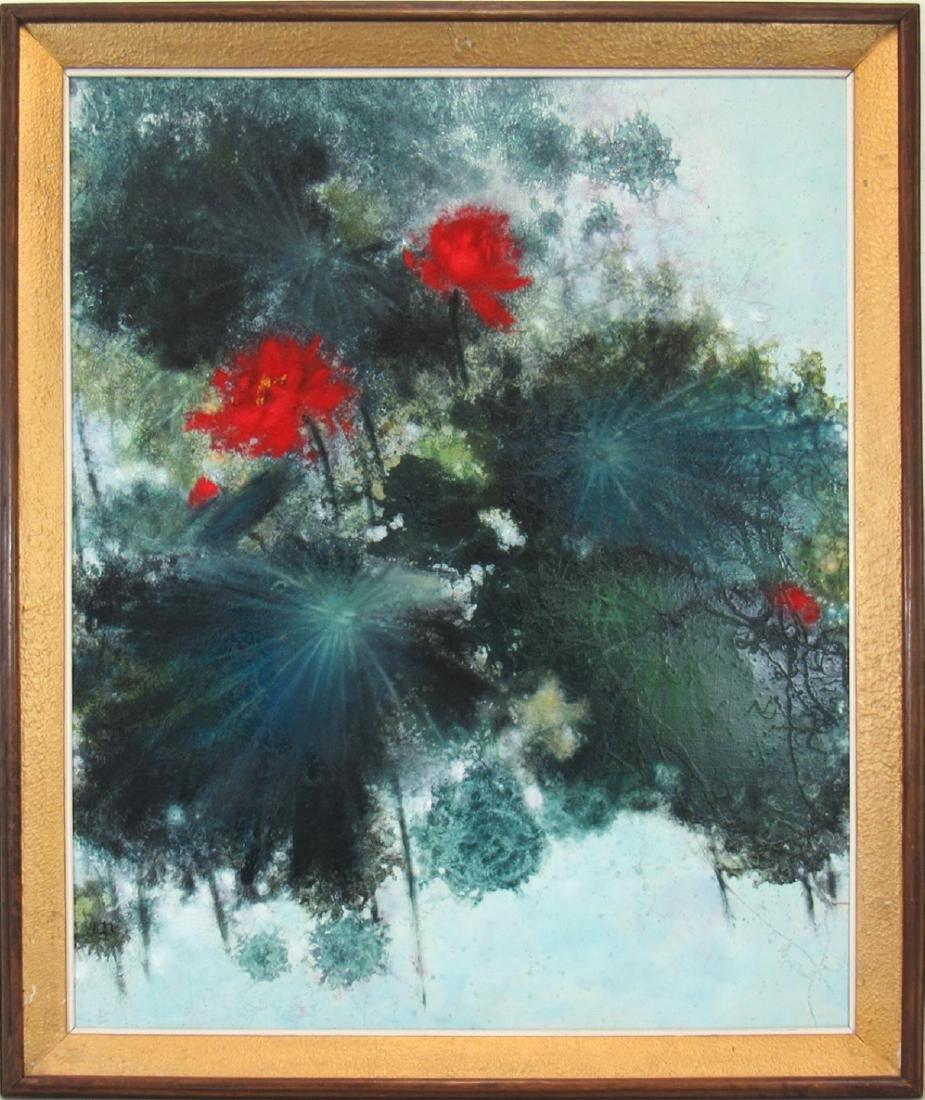 HU, Chi-Chung. (Hu Qizhong, Taiwan, 1927-2012). - 2