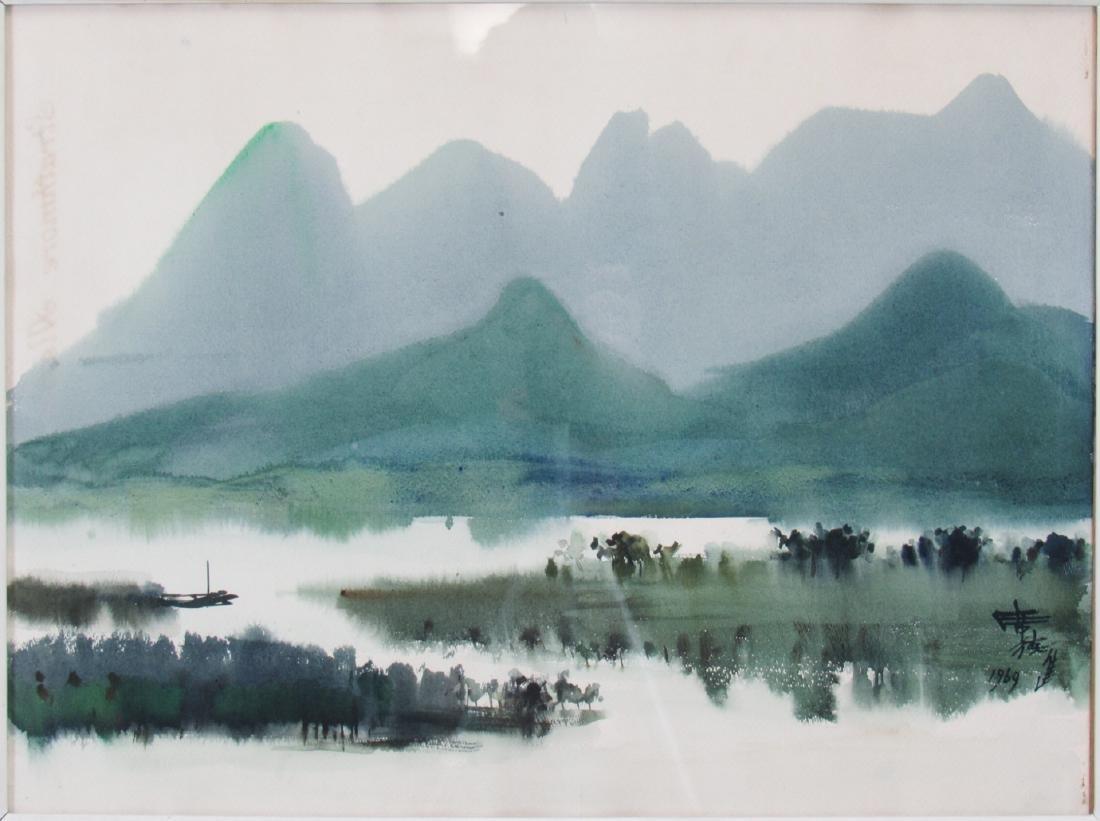 SHIY, De-Jinn. (Xi Dejin, China, 1923-1981).