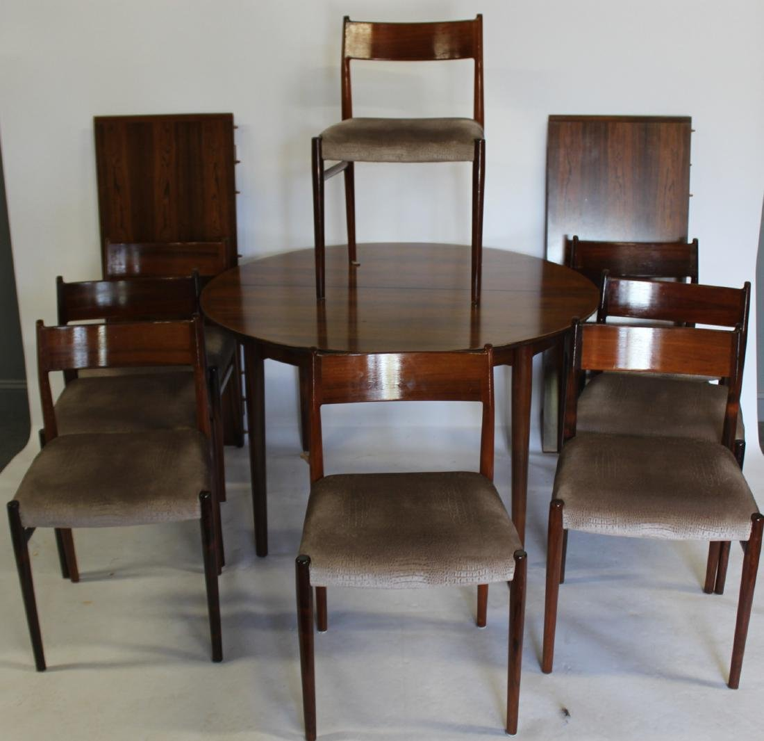 MIDCENTURY. Danish Modern Rosewood Table and
