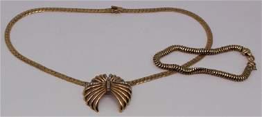 JEWELRY. Retro/Vintage 14kt Gold Jewelry.