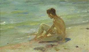 HENRY SCOTT TUKE (English, 1858-1929)