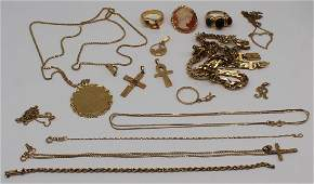 JEWELRY Assorted Ladies Gold Jewelry