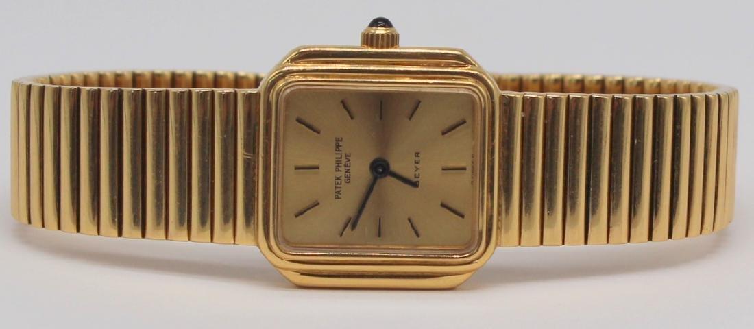 JEWELRY. Ladies Patek Philippe 18kt Gold Watch.